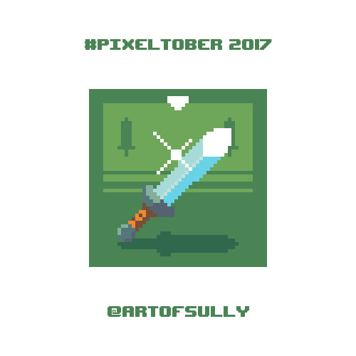 #pixeltober - Day 9 - 'Hero Sword'