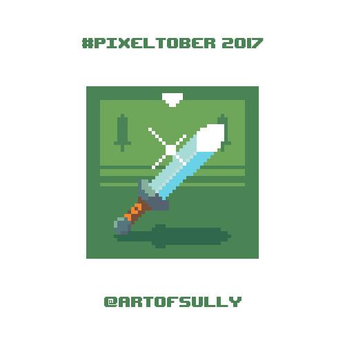 #pixeltober - Day 9 - 'Hero Sword'