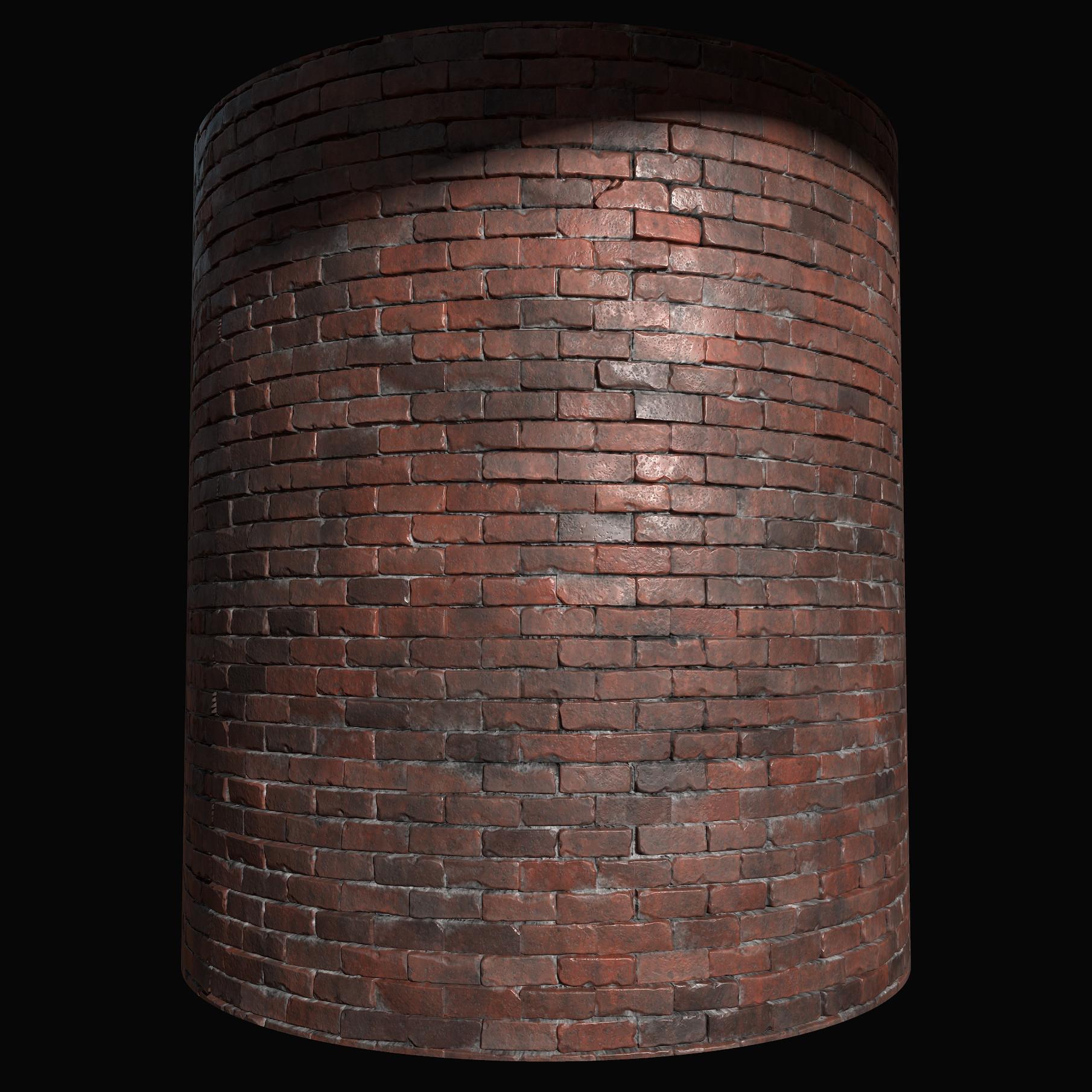 ArtStation - Bricks - ZBrush/Substance Designer, Marvin Lorenz