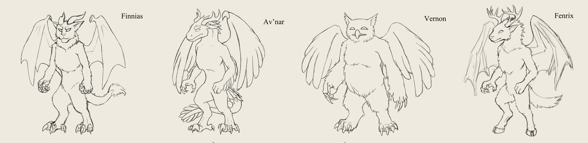 Cordelia wolf familiars concepts2