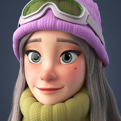 Alina balgimbaeva winter girl 01 2 a