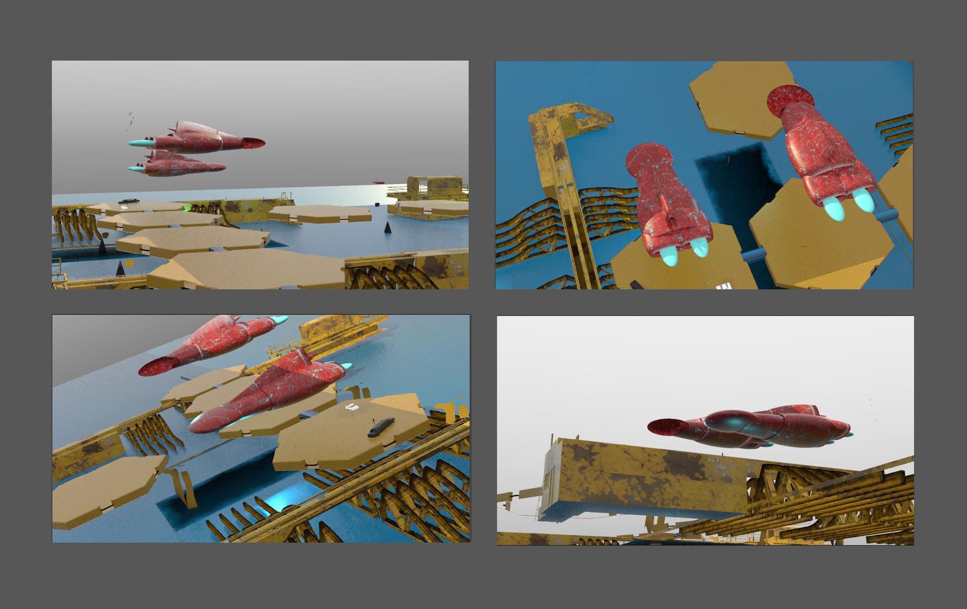 Pace porter zasada scifi dock 26 shots