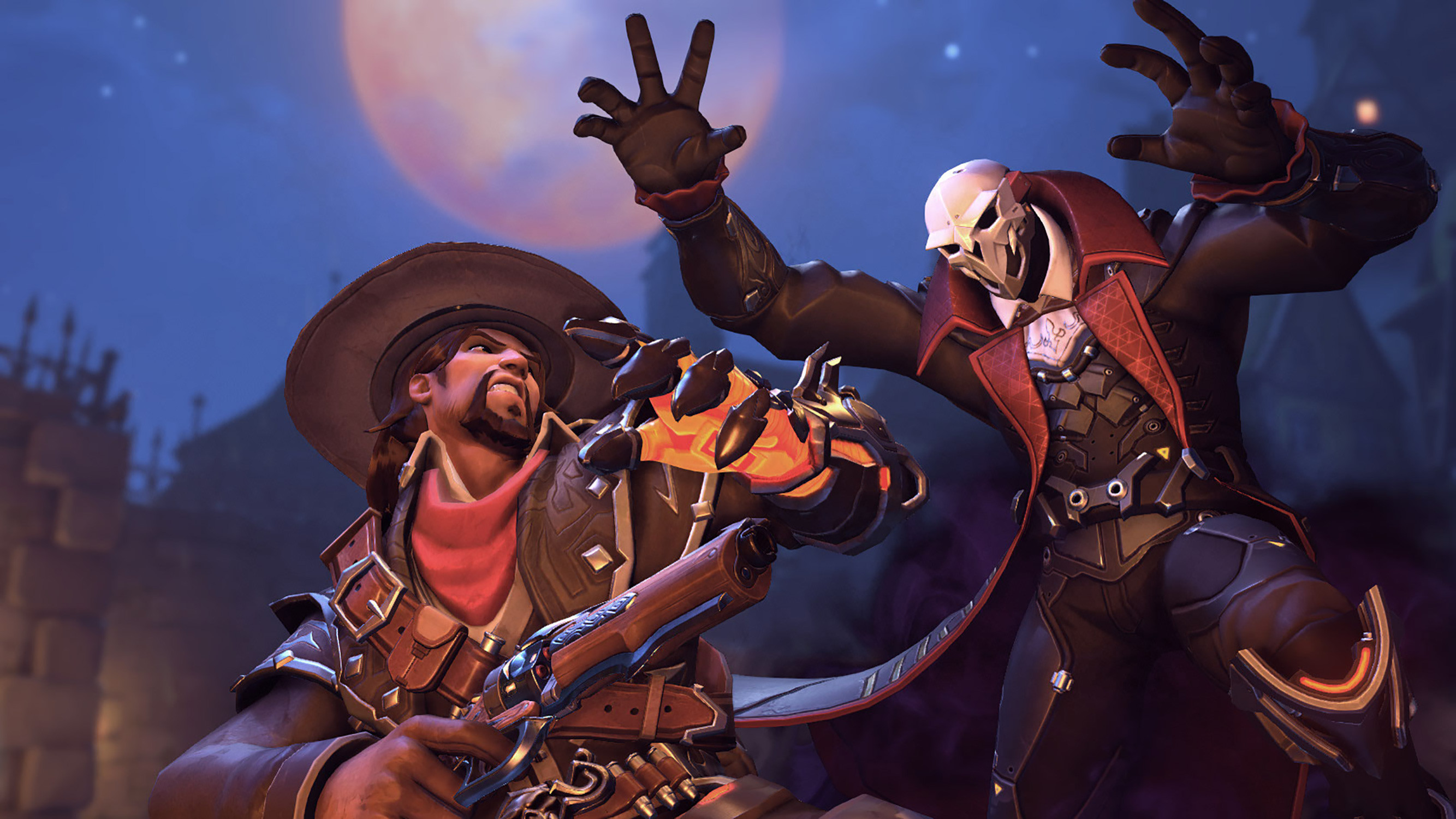 With McCree, it's a trick and treat all in one! Dracula Reaper by Rabcat.