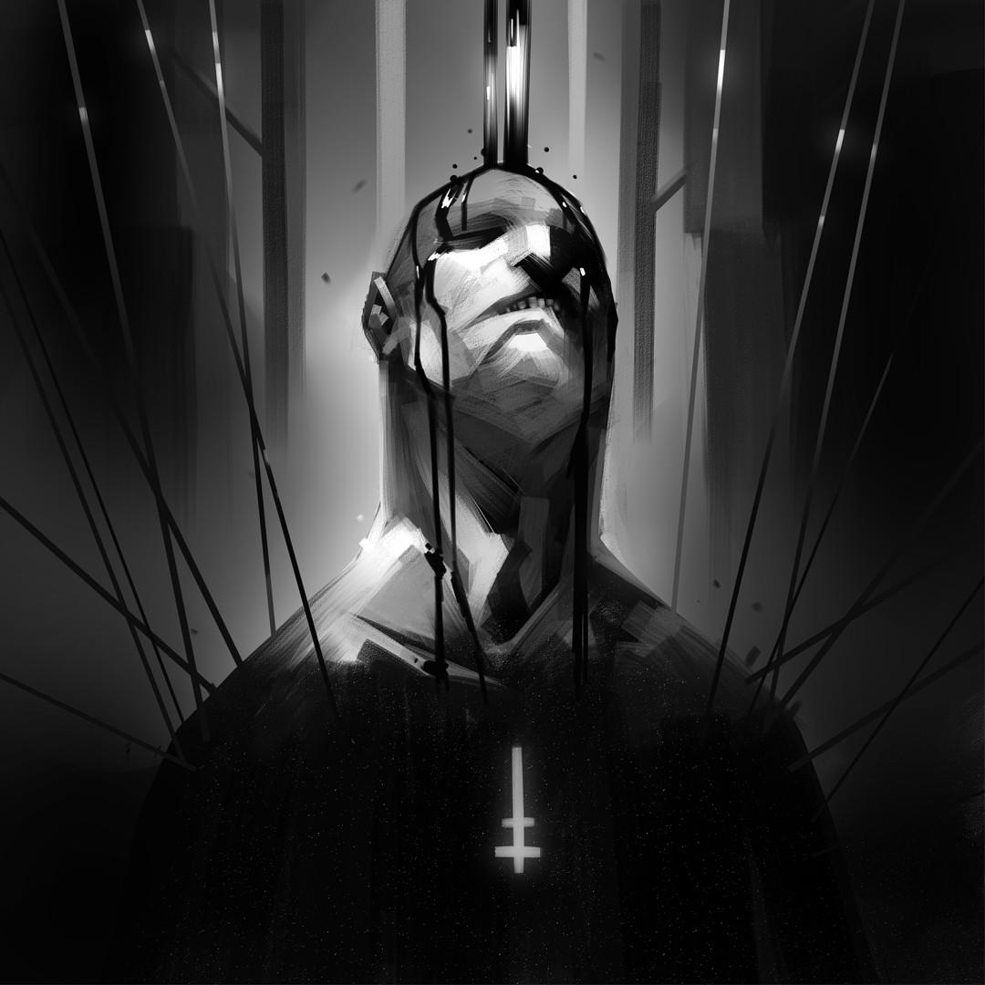 Jerome brulin black priest ld