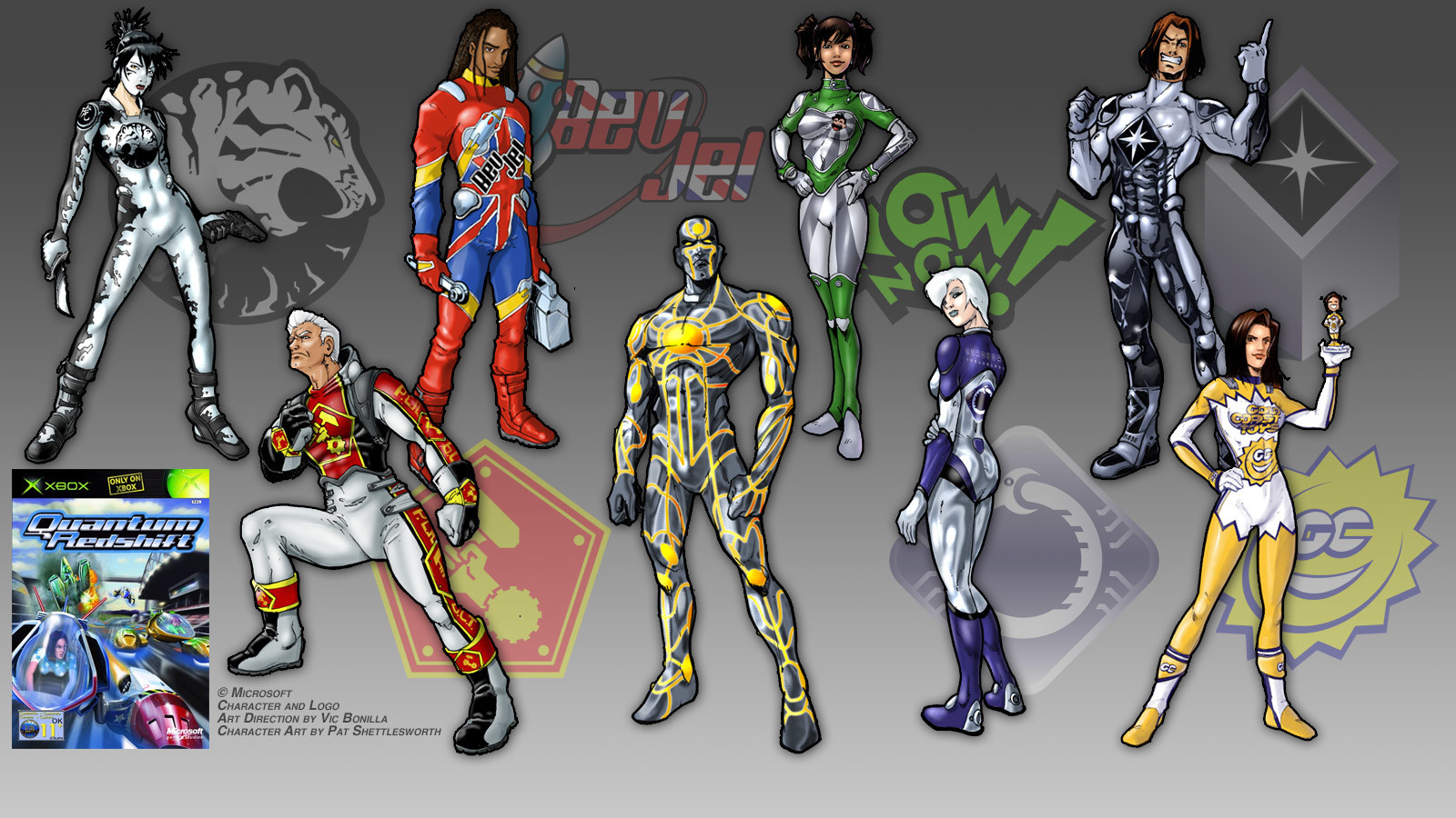 Art Directed the characters for the Xbox title Quantum Redshift