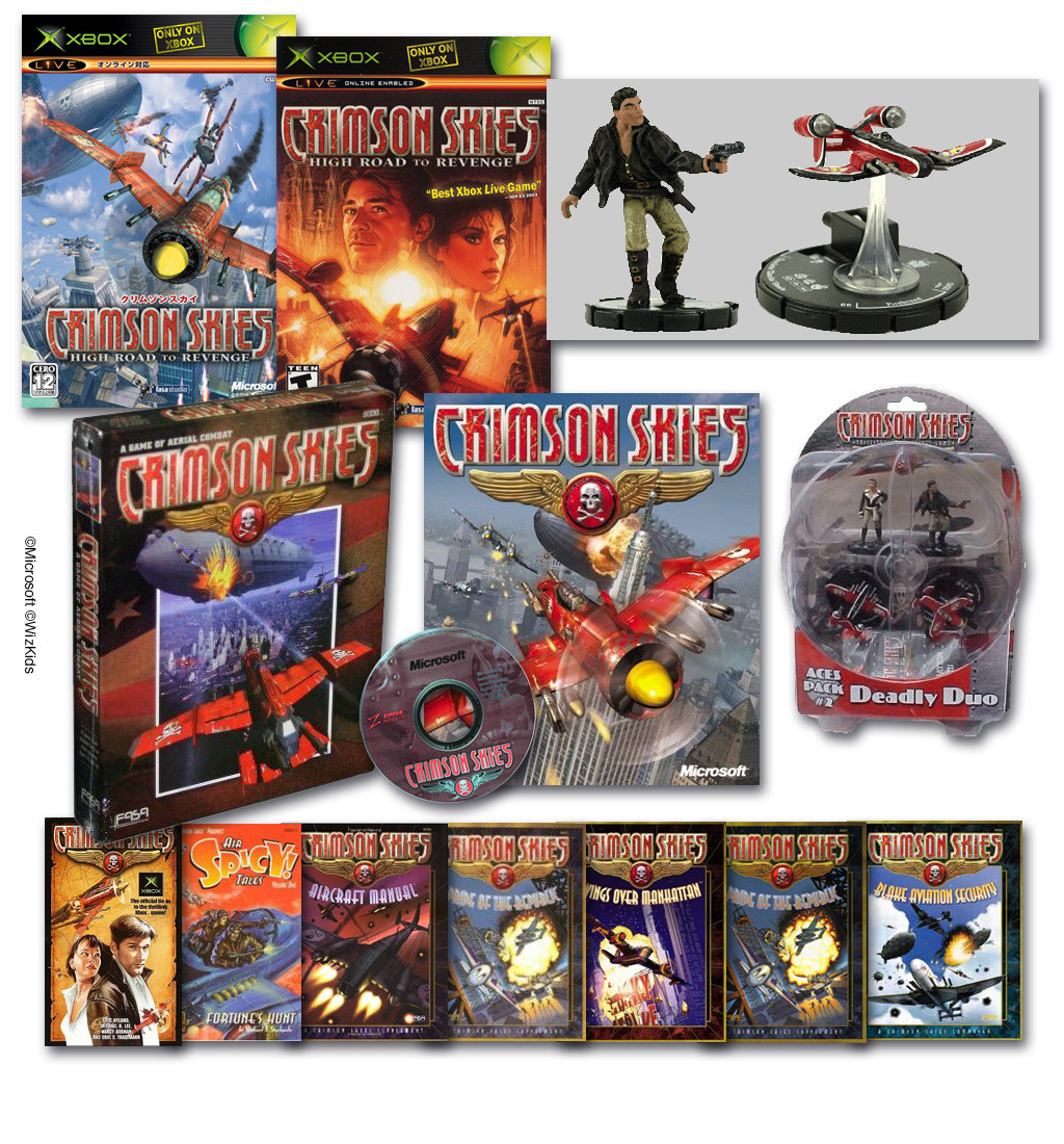 Helped develop the Intellectual Property Crimson Skies since its original Development at FASA Interactive. Art Directed CS turing my tenure at WizKids