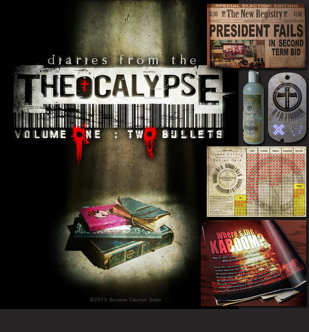 """Art directed the visual style for the Intellectual Property """"Theocalypse"""""""