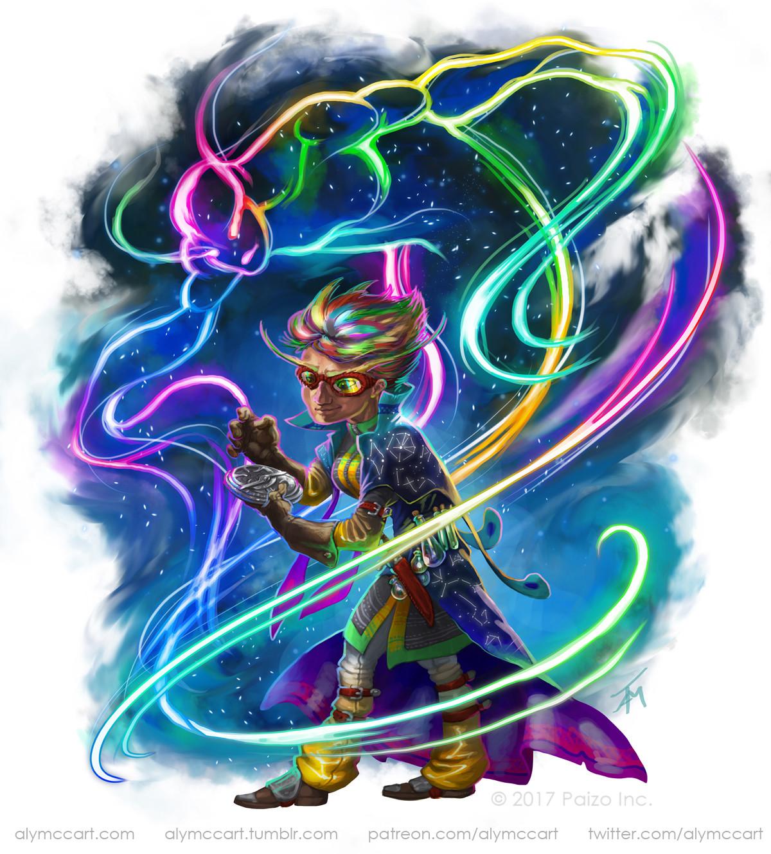 Alyssa mccarthy aether elementalist