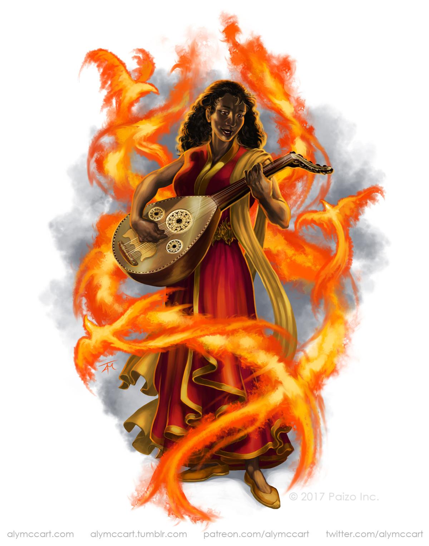 Alyssa mccarthy flamesinger