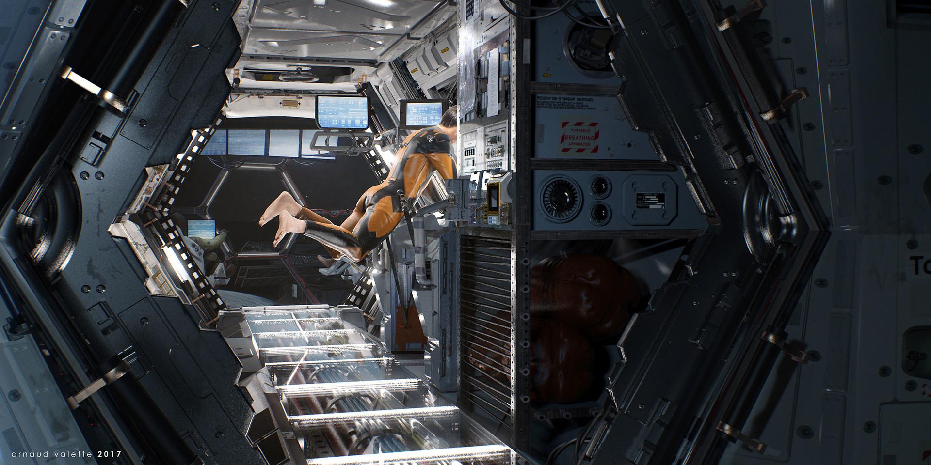 Кабина космического корабля гиф