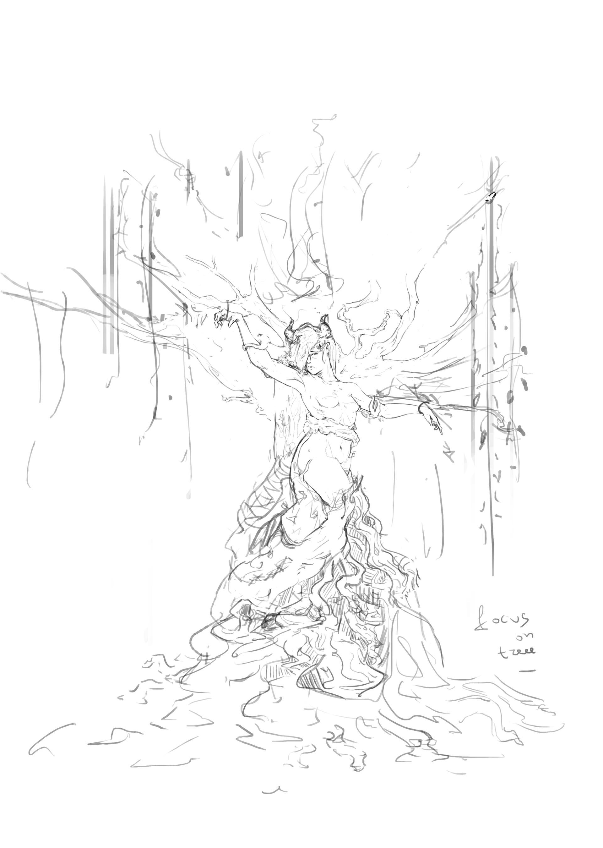 Boyan kazalov treegirlsketch