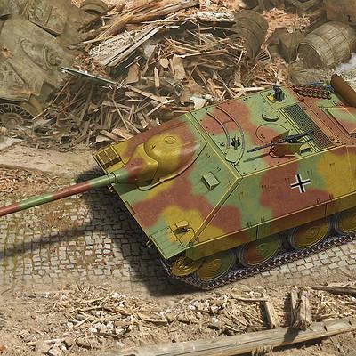 Valery petelin jagdpanzer 38d