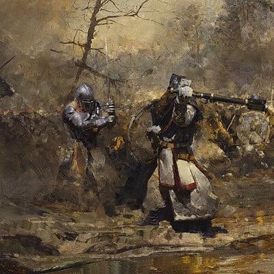 Greg rutkowski battle 1920