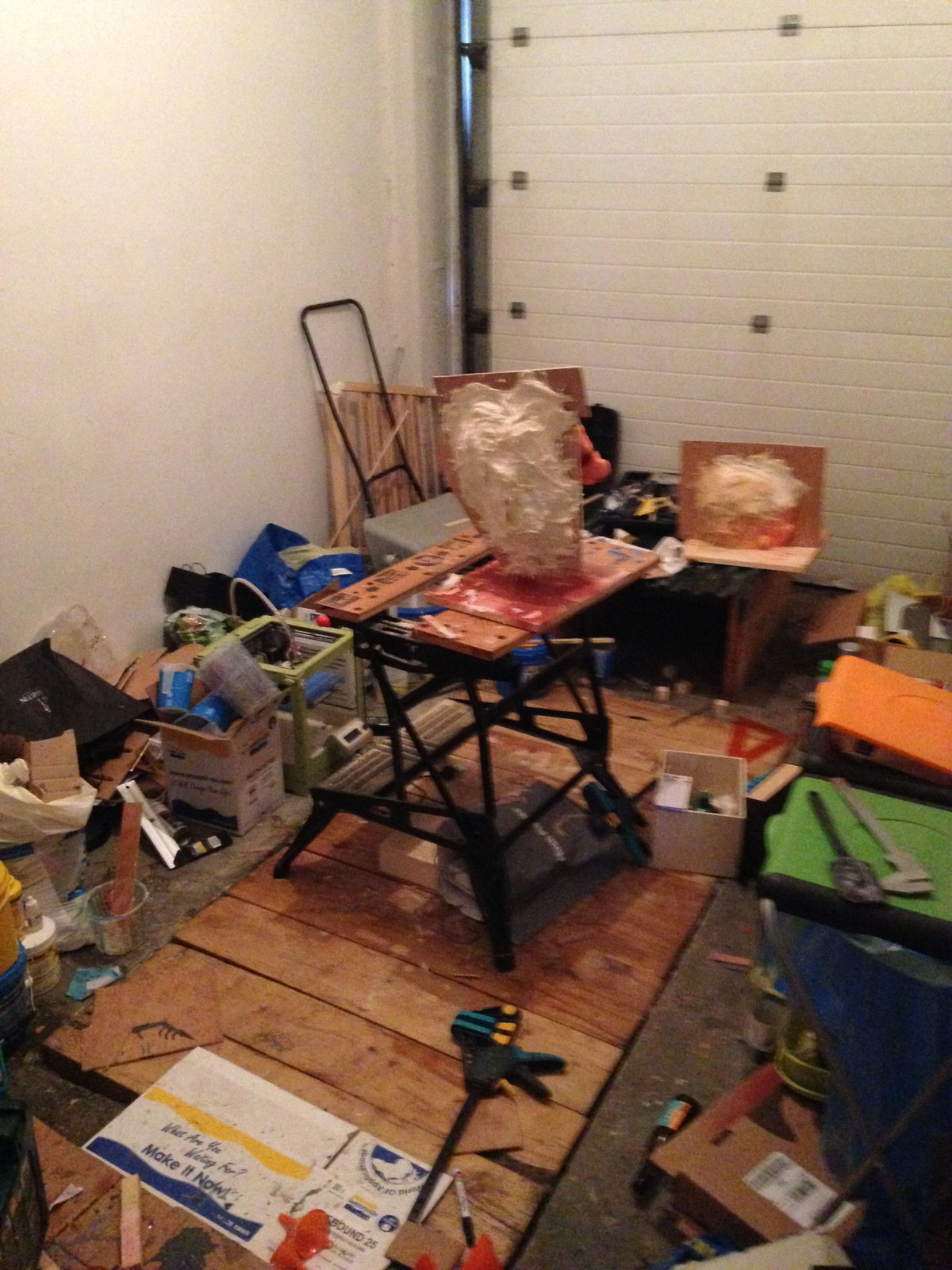My garage was a mess for a couple of months