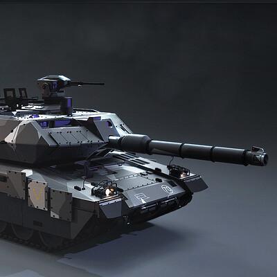 Tsvetelin krastev tank keyshot