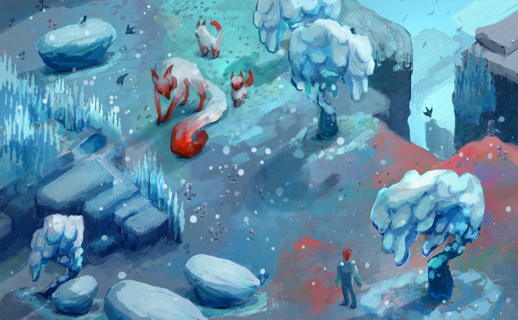 Snow biome