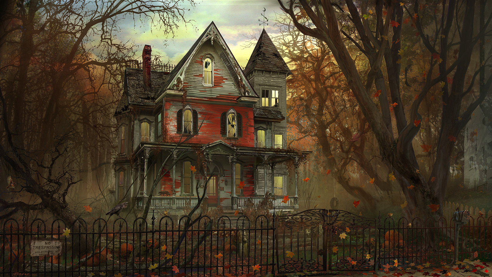 a Haunted House - Day