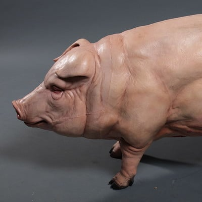 Charles wills pigsculpture