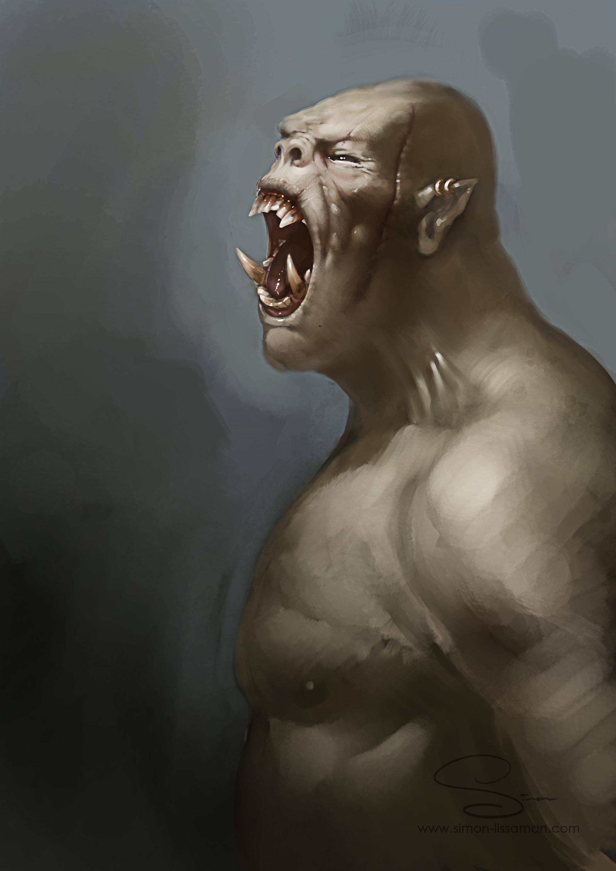 Simon lissaman pale orc