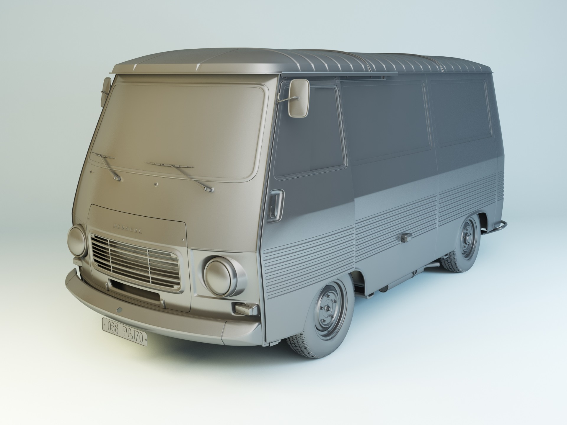 Nail khusnutdinov pwc 066 000 peugeot j7 modelling 0