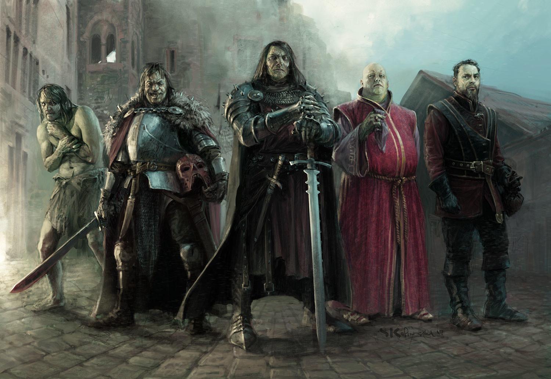 Mercenary Heroes