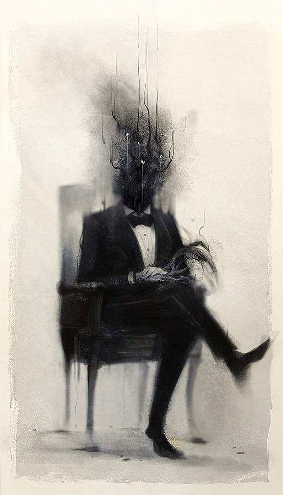 Damien mammoliti portrait of a dex man