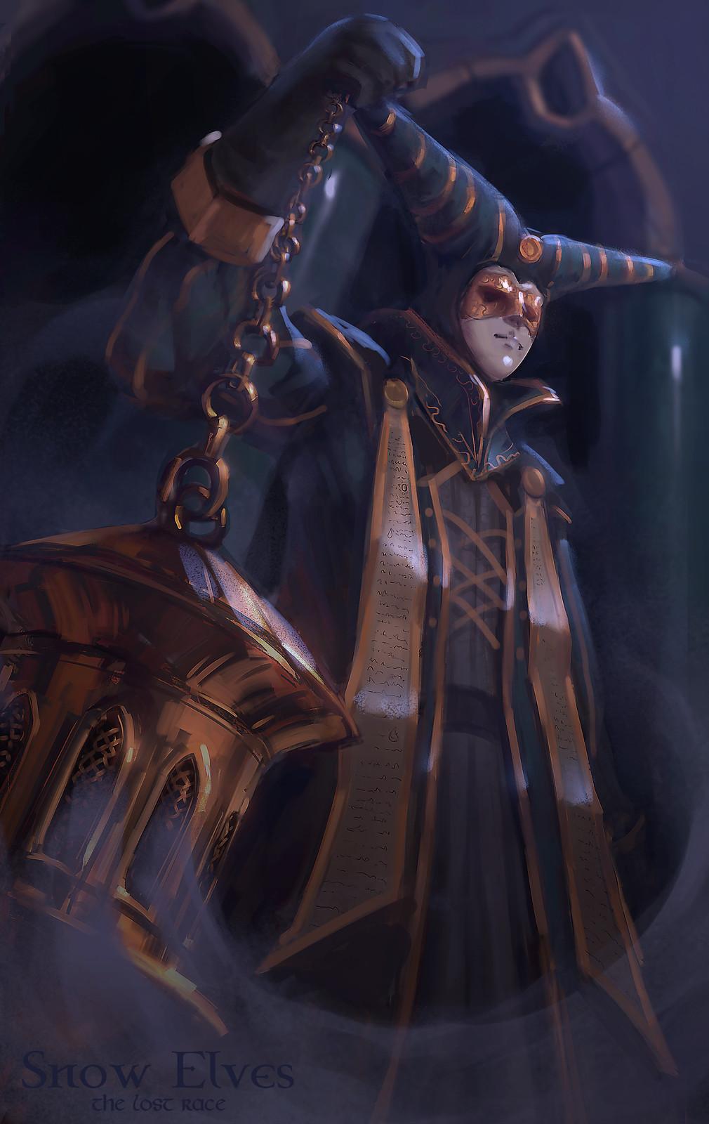 Snow Elves - Mephrin priest