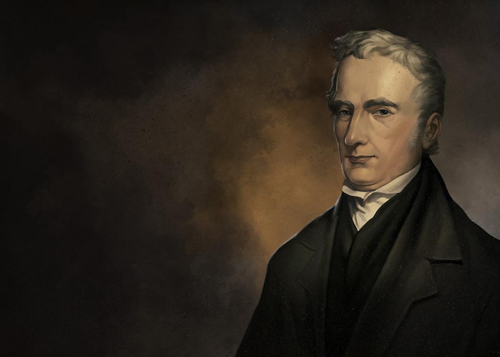 George Stephenson Portrait