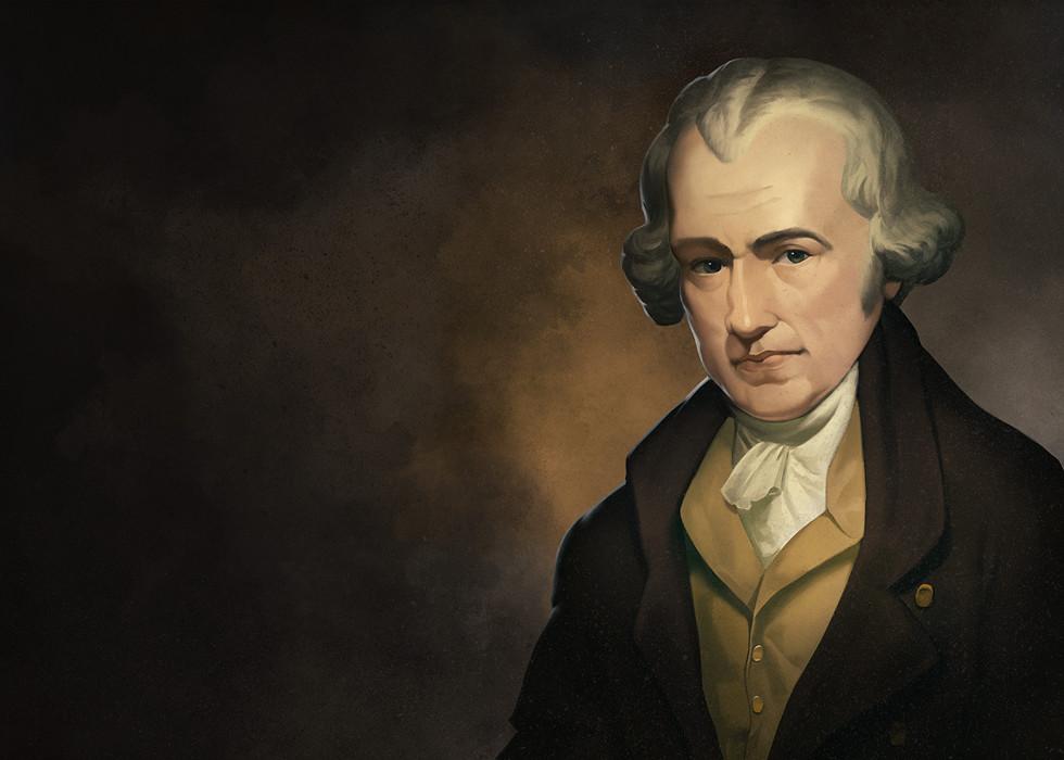 James Watt Portrait