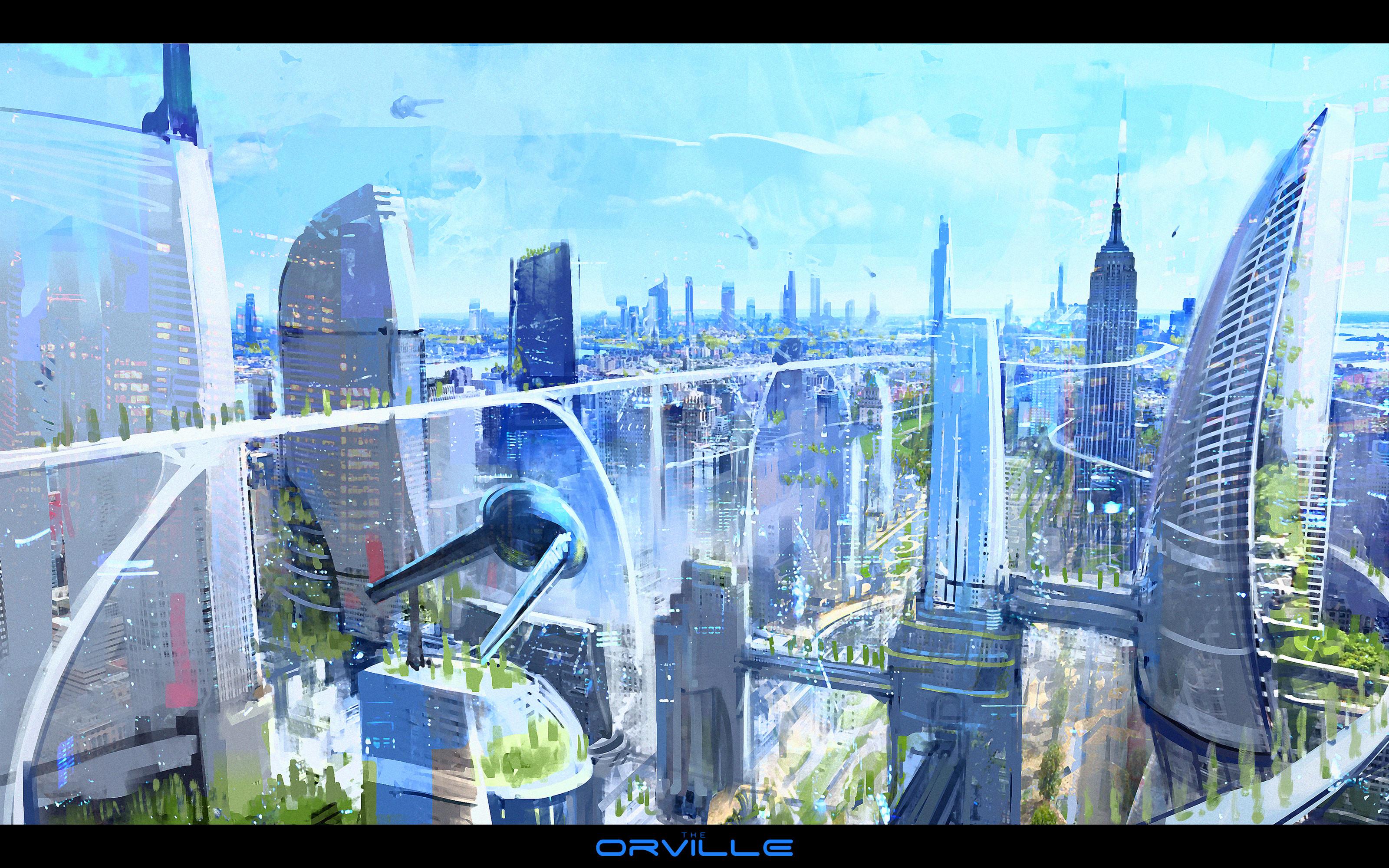 Futuristic New York