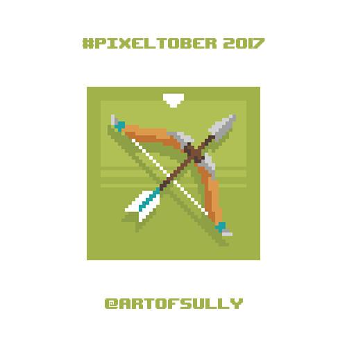 #pixeltober - Day 14 - 'Hero's Bow'