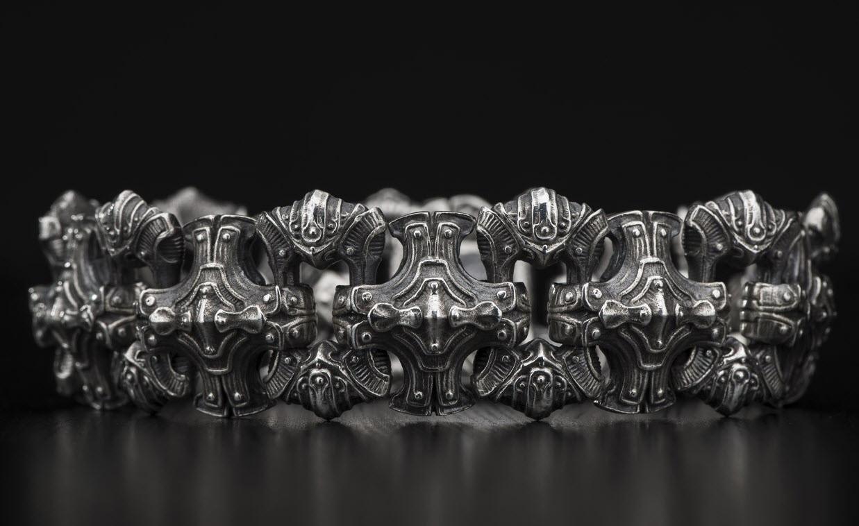 William Henry - Large silver Bracelet