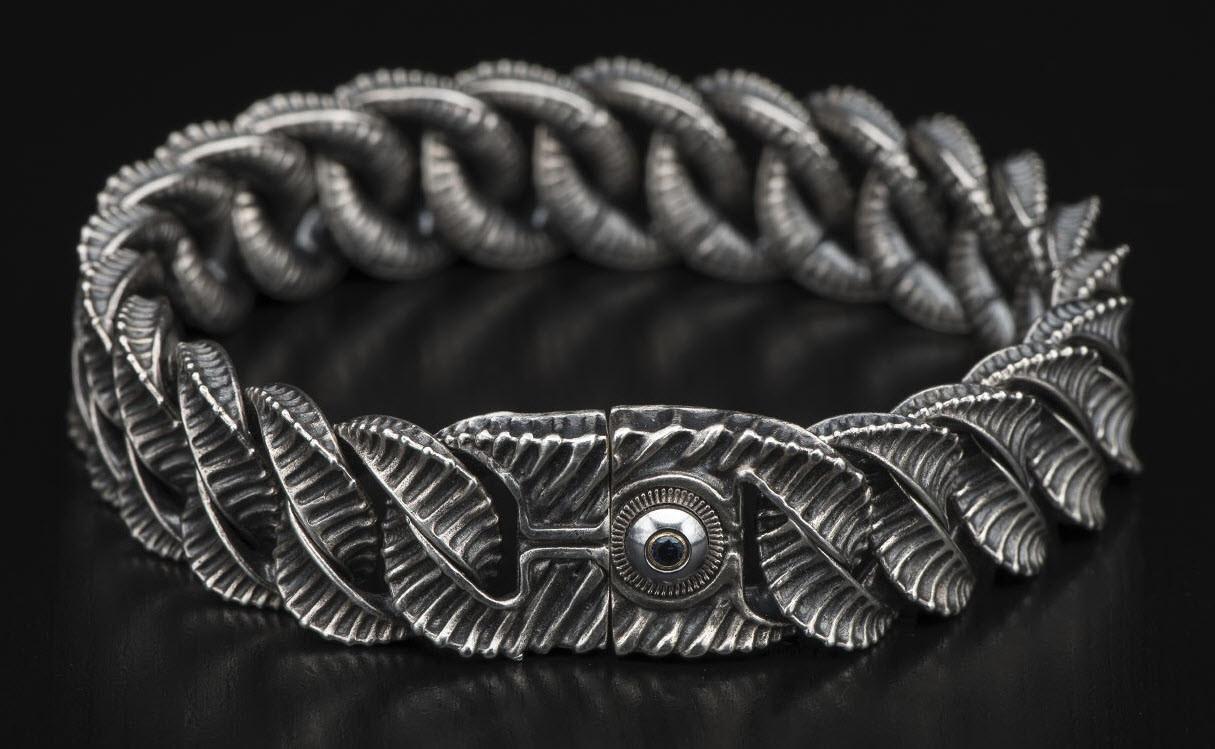 William Henry - Big Curb Link Bracelets