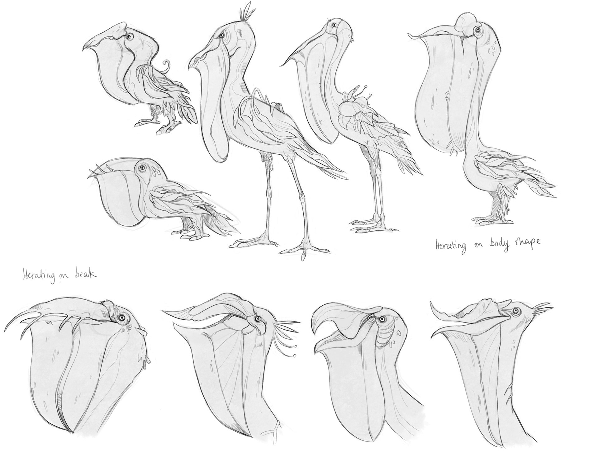 Iteration on pelican idea