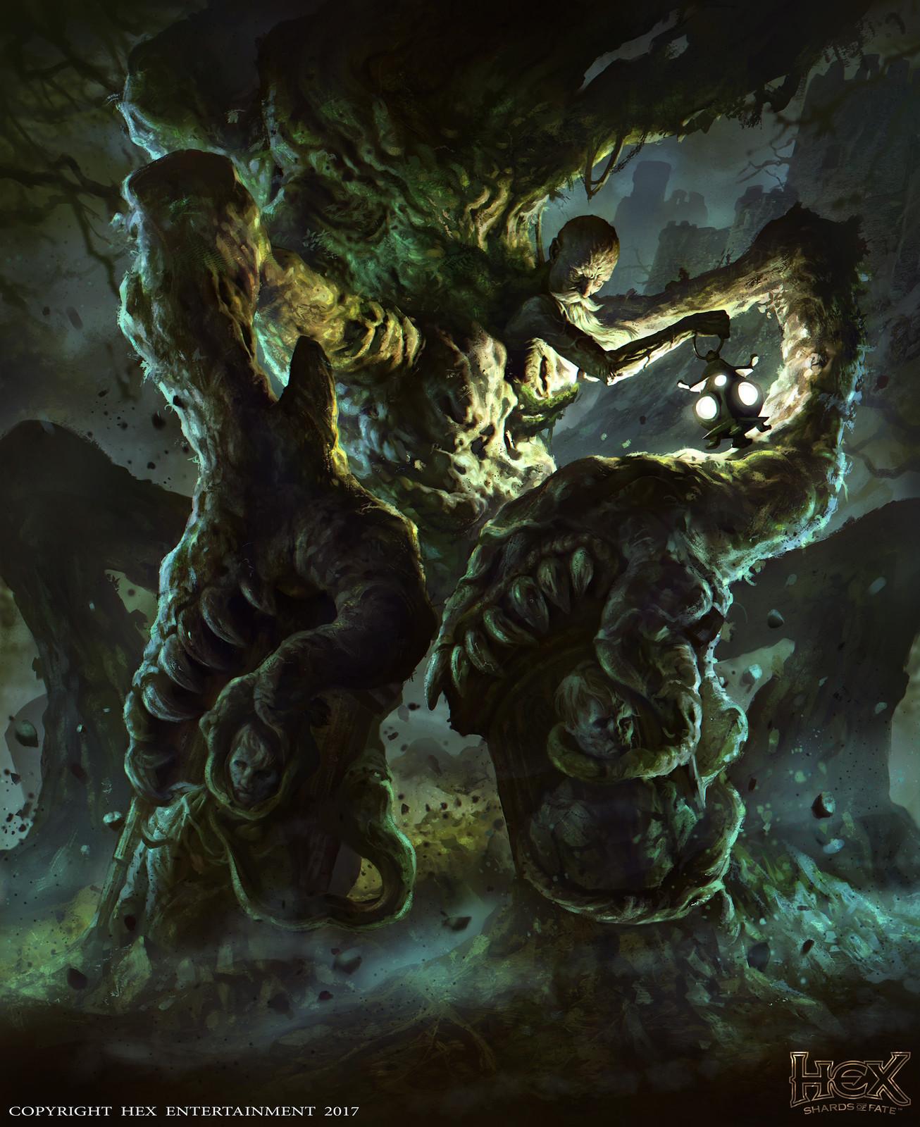 HEX TCG-Shards of Fate: Unbury