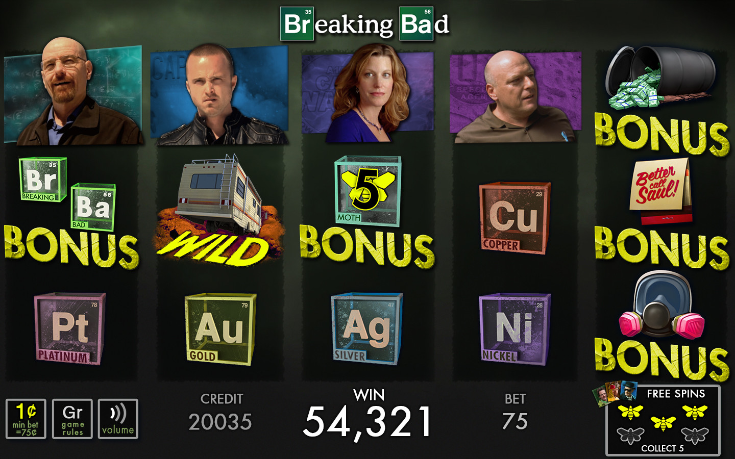 Base Game for Breaking Bad.