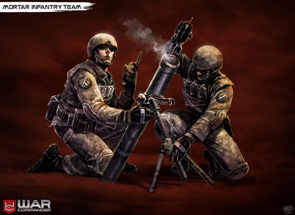 Mortar Team concept art