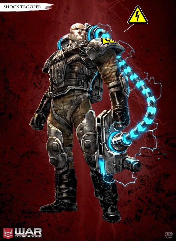 Shock Trooper concept art