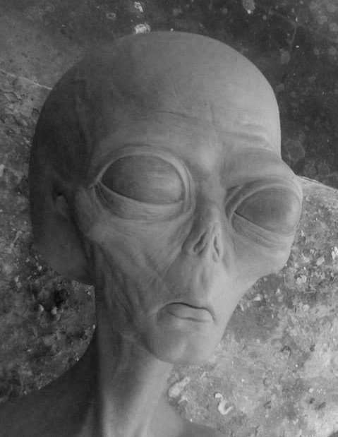 Charles wills greyaliensculpture