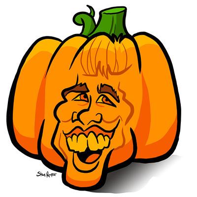 Steve rampton pumpkin