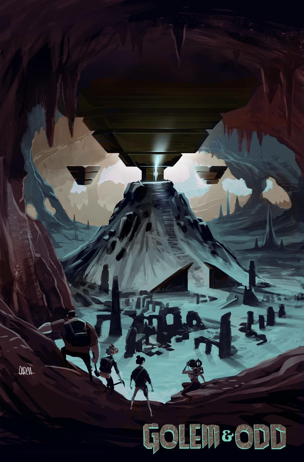 Golem & Odd environment concept