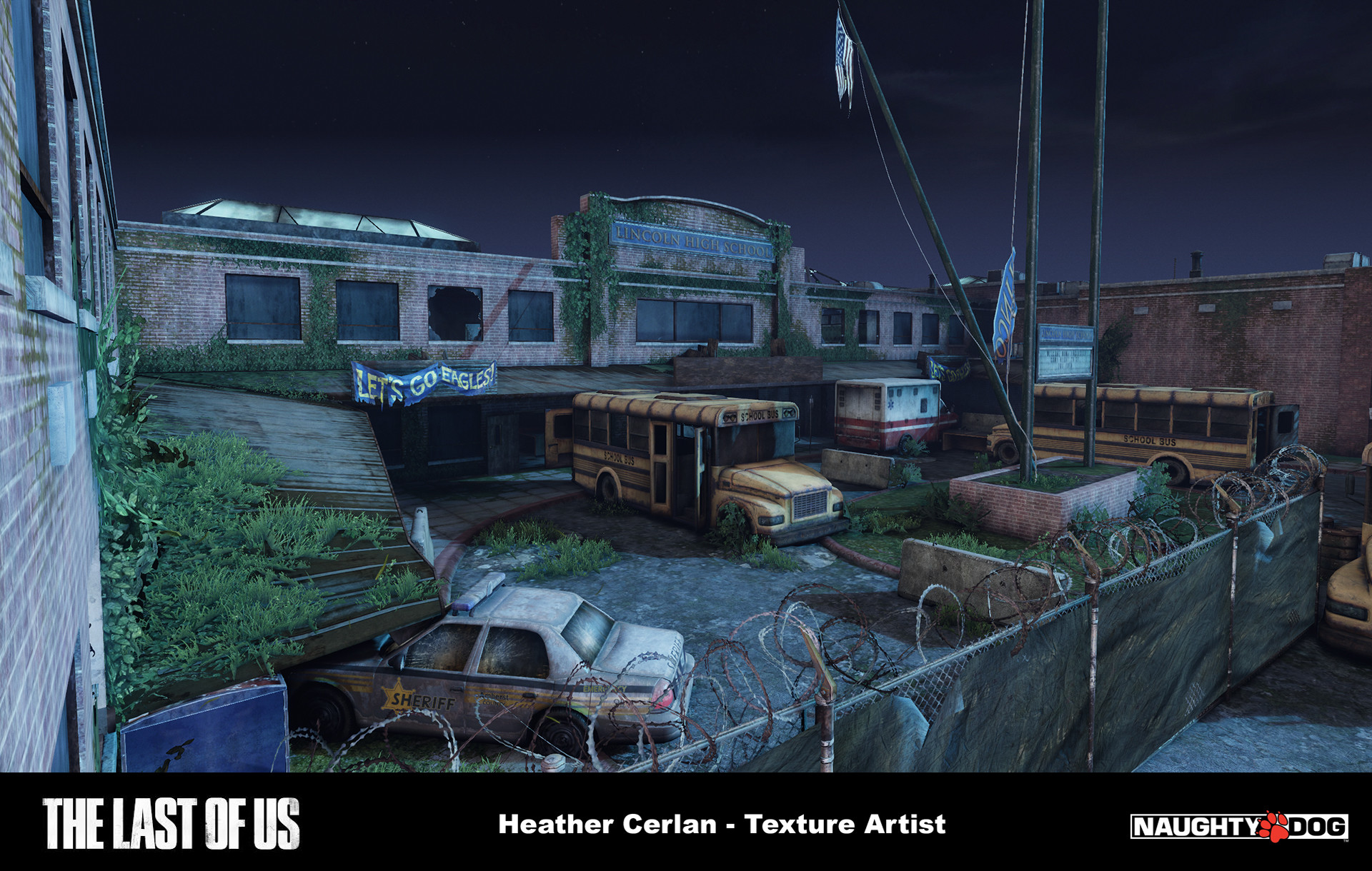 ArtStation - The Last Of Us - Multiplayer, HEATHER CERLAN