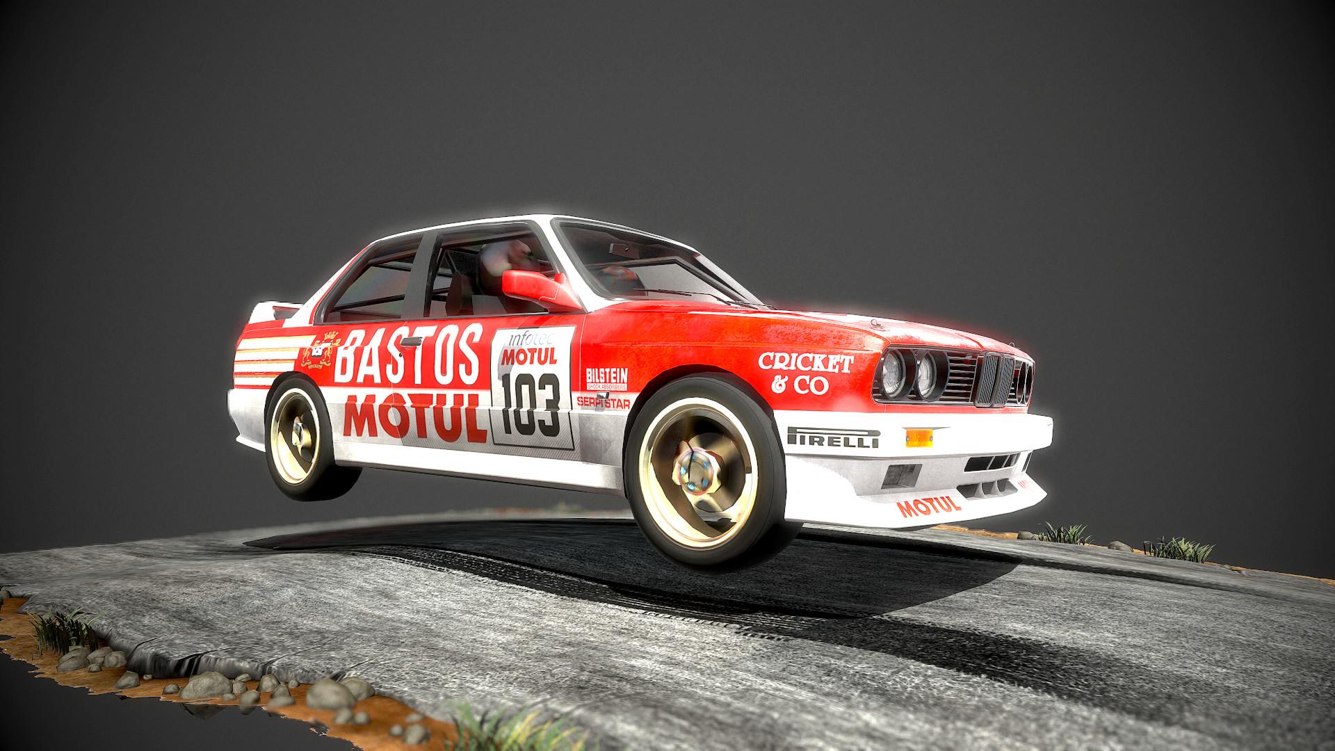 Artstation Bmw M3 E30 Rally Car Veaceslav Condraciuc