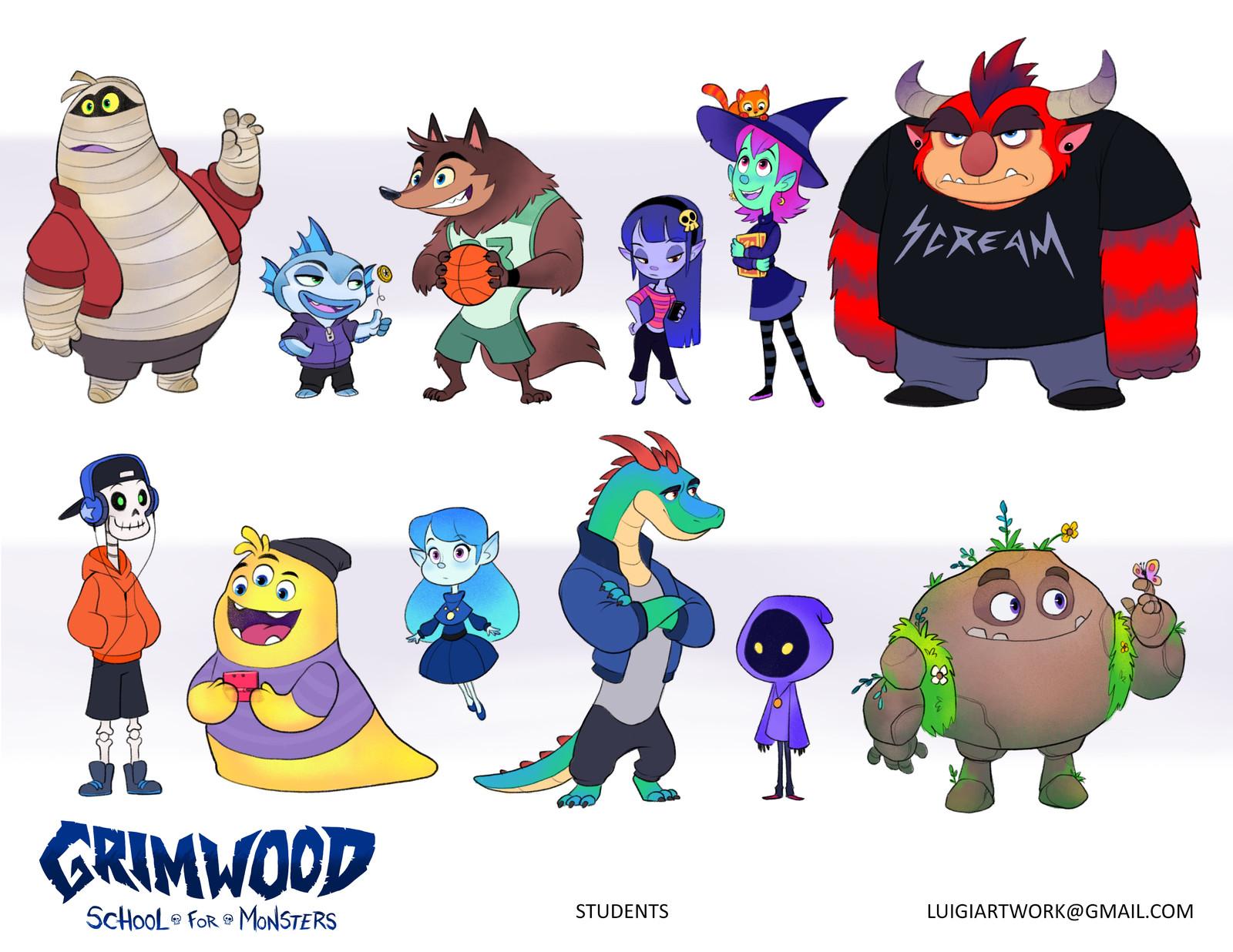 Grimwood School for Monsters