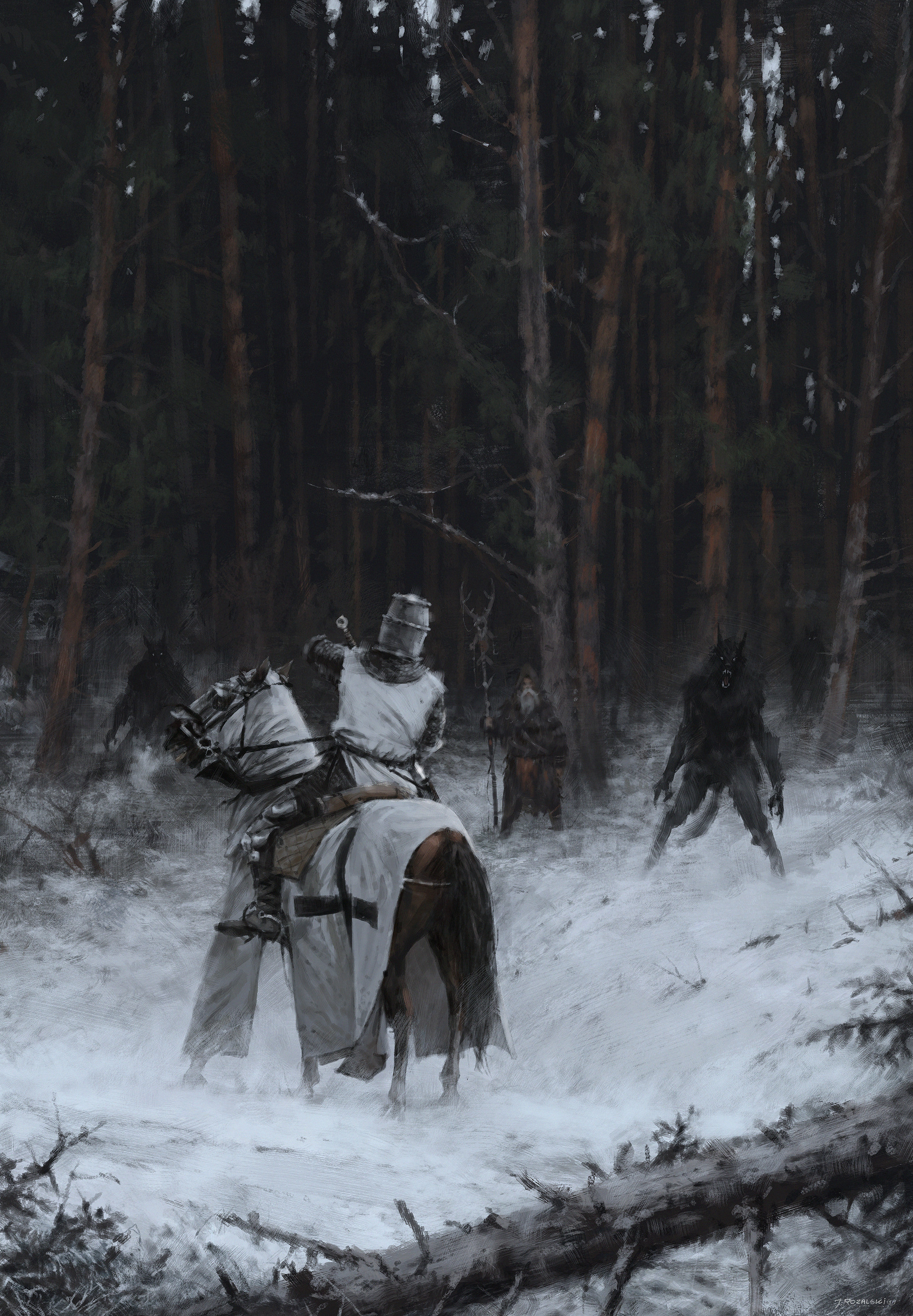 Jakub rozalski wolfpack join the orders