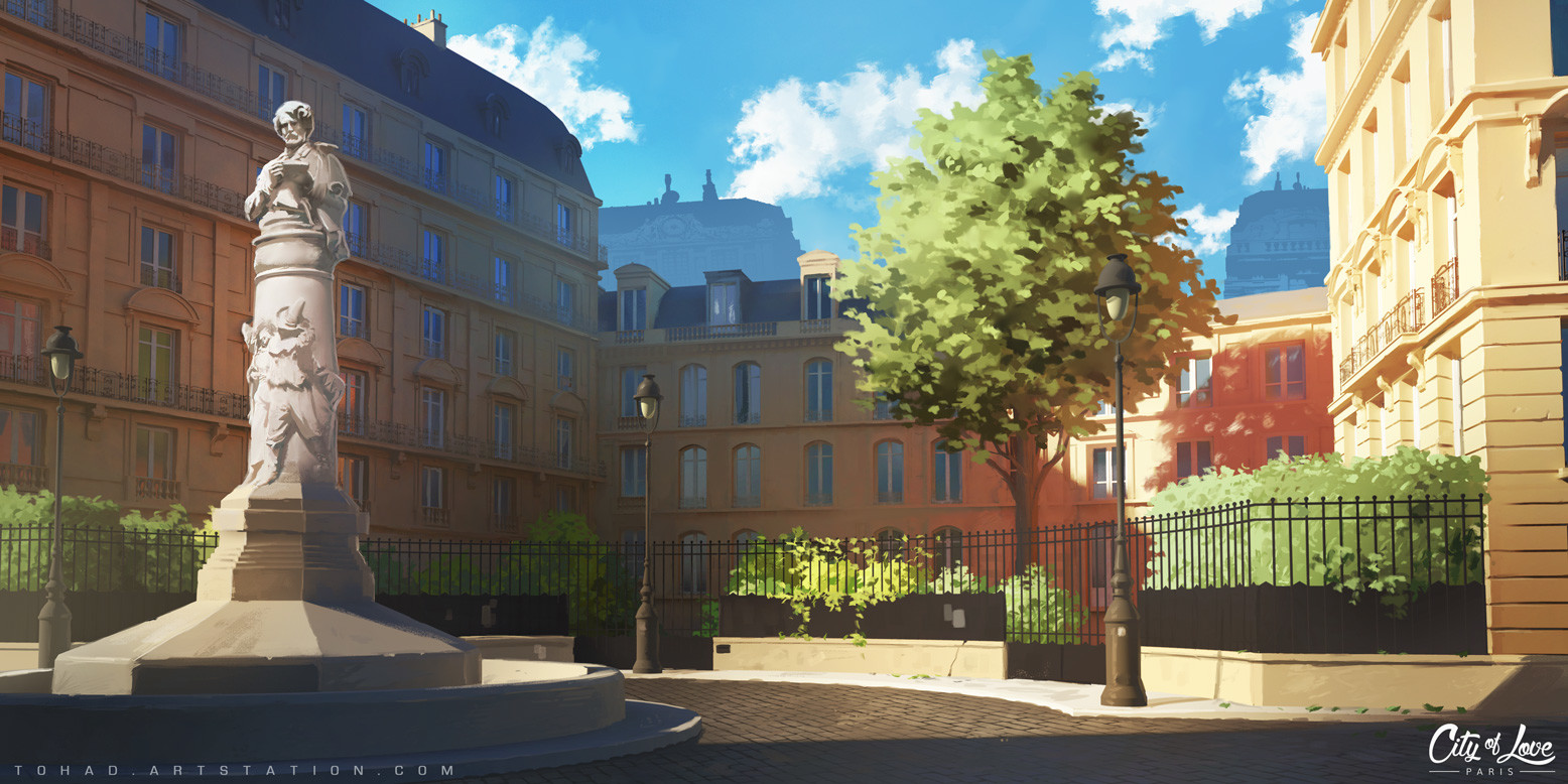 City of Love : streets of Paris