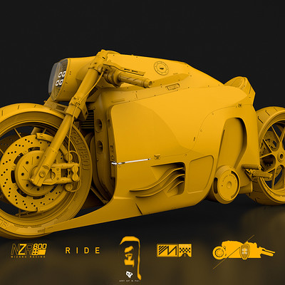 NZR800 concept bike | making of...