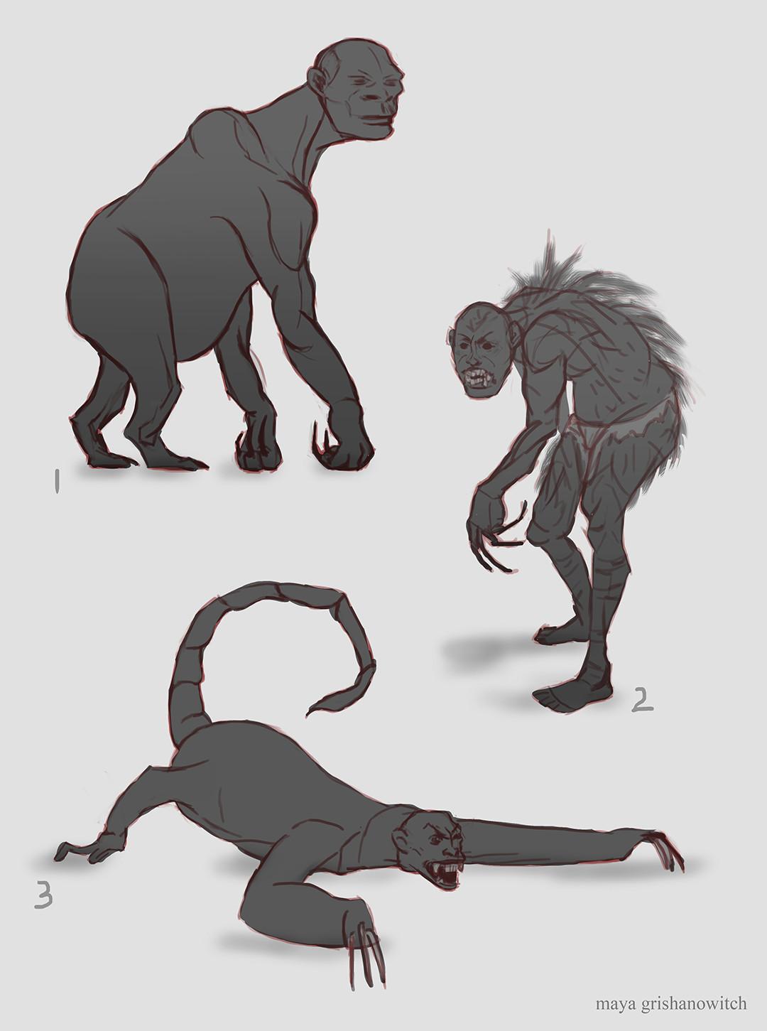 Maya grishanowitch draka kah bodyvariations