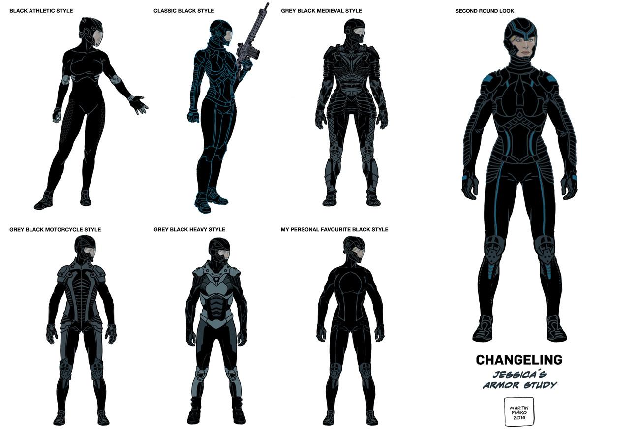 Jessica´s body armor.