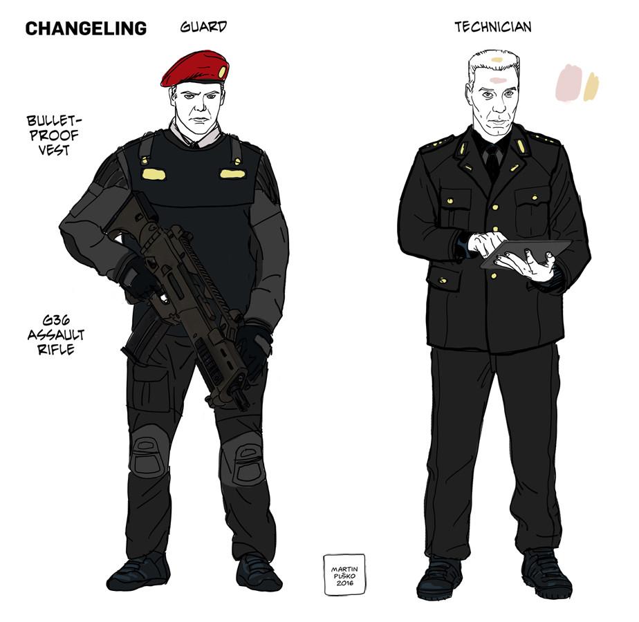 Enemy soldier uniform concepts.